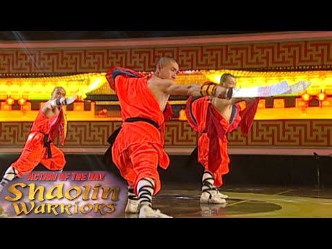 Aksi Keren Kung Fu Shaolin Warrior Dengan Pedang [Shaolin Warrior Show] [17 Feb 2016]