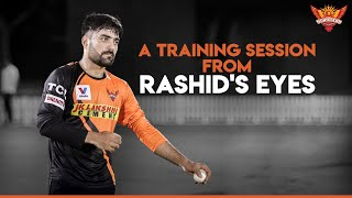 A training session from Rashid's eyes