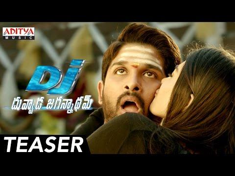 DJ - Duvvada Jagannadham Teaser || DJ Songs || Allu Arjun, Pooja Hegde || Harish Shankar || DSP
