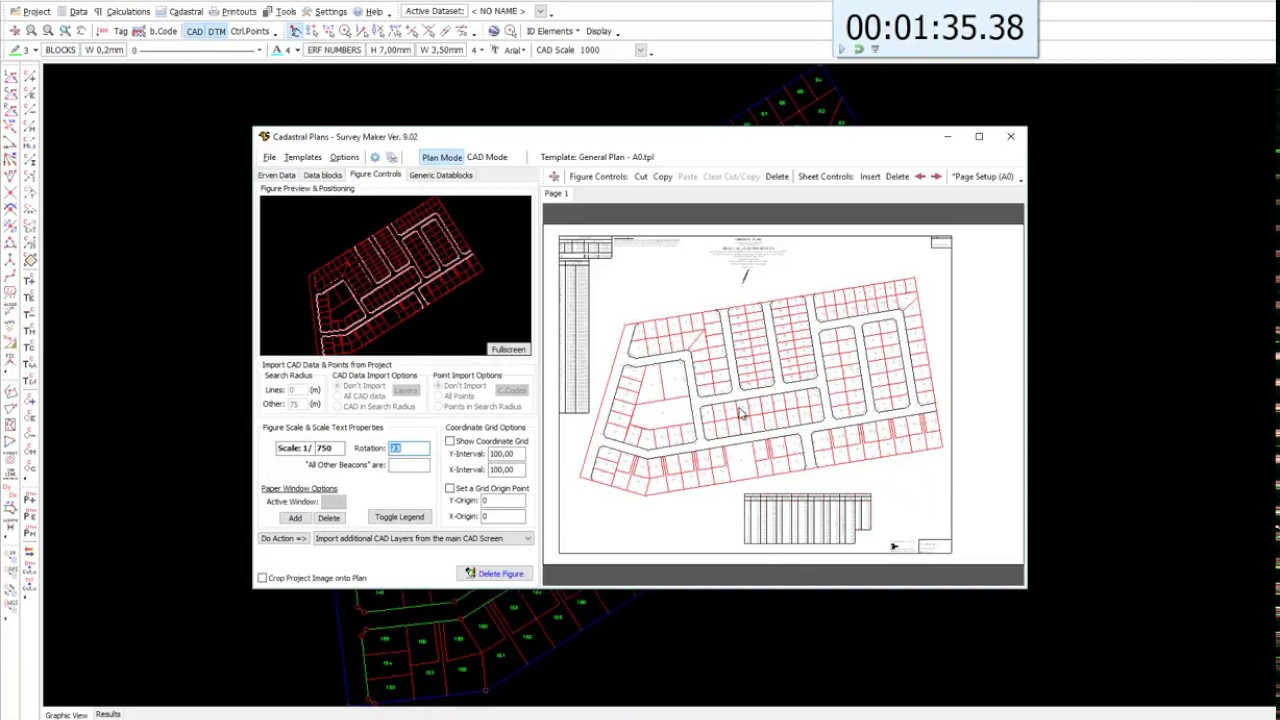 competition cadastral plan in under 2 minutes youtube