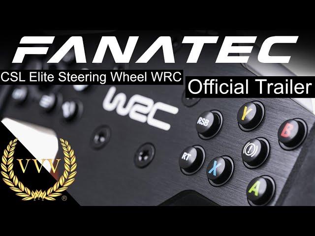 Fanatec CSL Elite Steering Wheel WRC - Launch Trailer