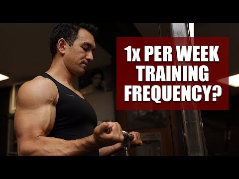 Training Each Muscle Once Per Week: Effective Or Waste Of Time?
