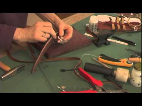 simple shoemaking: How to make sandals part one