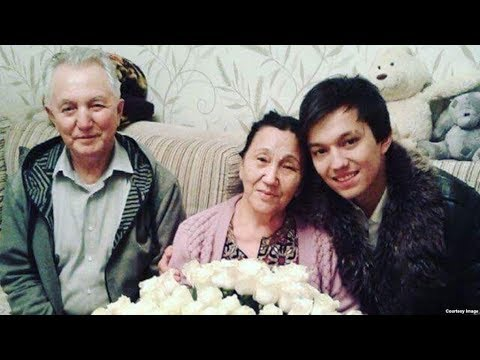Dimash with parents - Nice song about mom