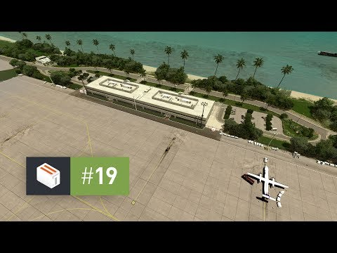 Cities Skylines: Seenu — EP 19 — Airport Terminal