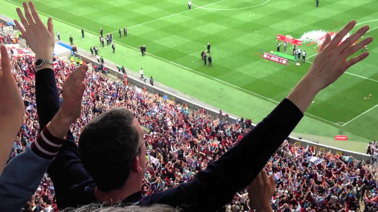 Download Bubbles at Wembley, West Ham fans