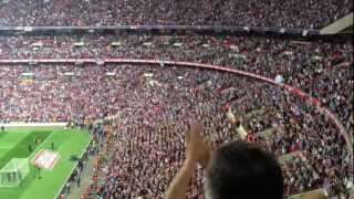 Gambar cover Bubbles at Wembley, West Ham fans