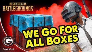 PUBG! 🔴BATTLEGROUNDS! GOING FOR ALL DROP BOXES!