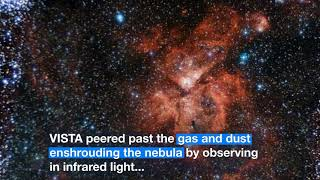 ESO: A closer look at the Carina Nebula