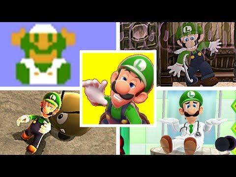 EVOLUTION OF LUIGI DEATHS & GAME OVER SCREENS (1983-2018) NES, SNES, GBA, Nintendo Switch & More!