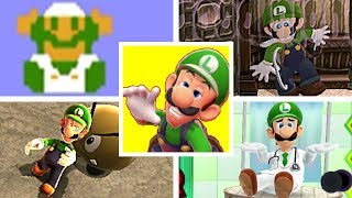 EVOLUTION OF LUIGI DEATHS & GAME OVER SCREENS (1983-2018) NES, SNES, GBA, Nintendo Switch & More!