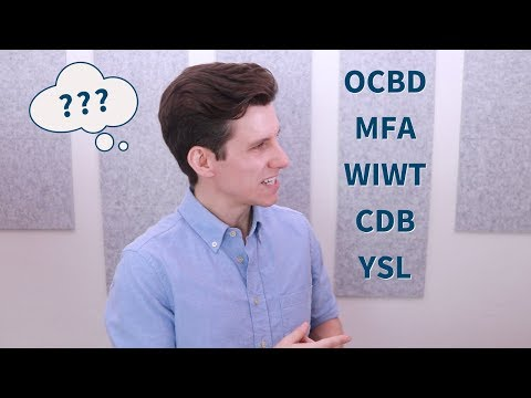 What Does OCBD Stand For? MFA? Popular Fashion Acronyms Explained (CP, MFA, OOTD and more...)