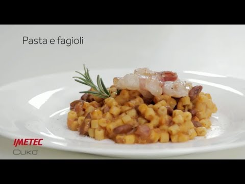 Imetec Cukò: video ricetta pasta e fagioli