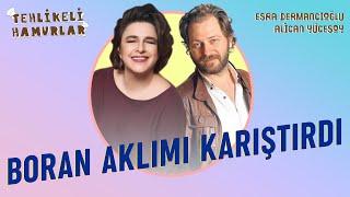 Boran Kuzum Aklımı Karıştırdı | <b>Esra Dermancıoğlu</b> - Alican Insta Canlı