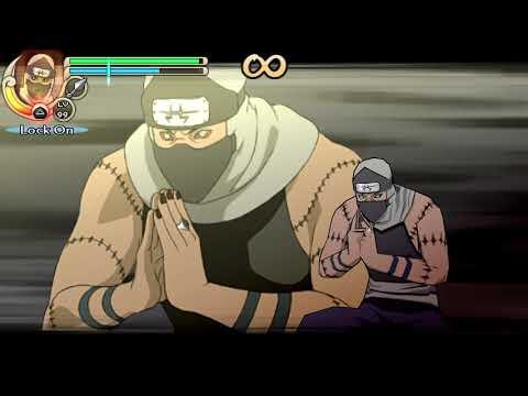 Naruto Shippuden: Ultimate Ninja Impact-Kakuzu's Gameplay