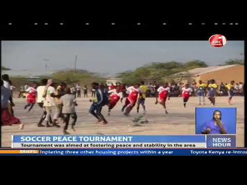 Mandera Youths And Their Somalia Counterparts Hold A Soccer Peace Game