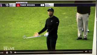 Tiger Woods cussing GD