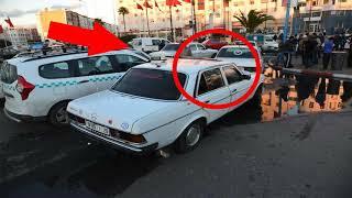 ضابط شرطة ركب سيارة أجرة و عن طريق الصدفة اكتشف أمرا خطيرا داخل الطاكسي