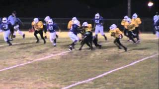 The Best Running Back: Jonathan Rush 7th Grade Football Highlight Video