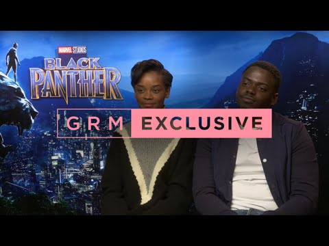 Daniel Kaluuya & Letitia Wright talk #BlackPanther, FaceTiming Drake & the importance of the film streaming vf