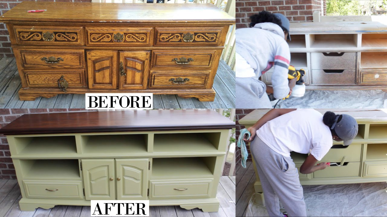DIY | How To SLAY a Furniture Makeover!!!! - YouTube