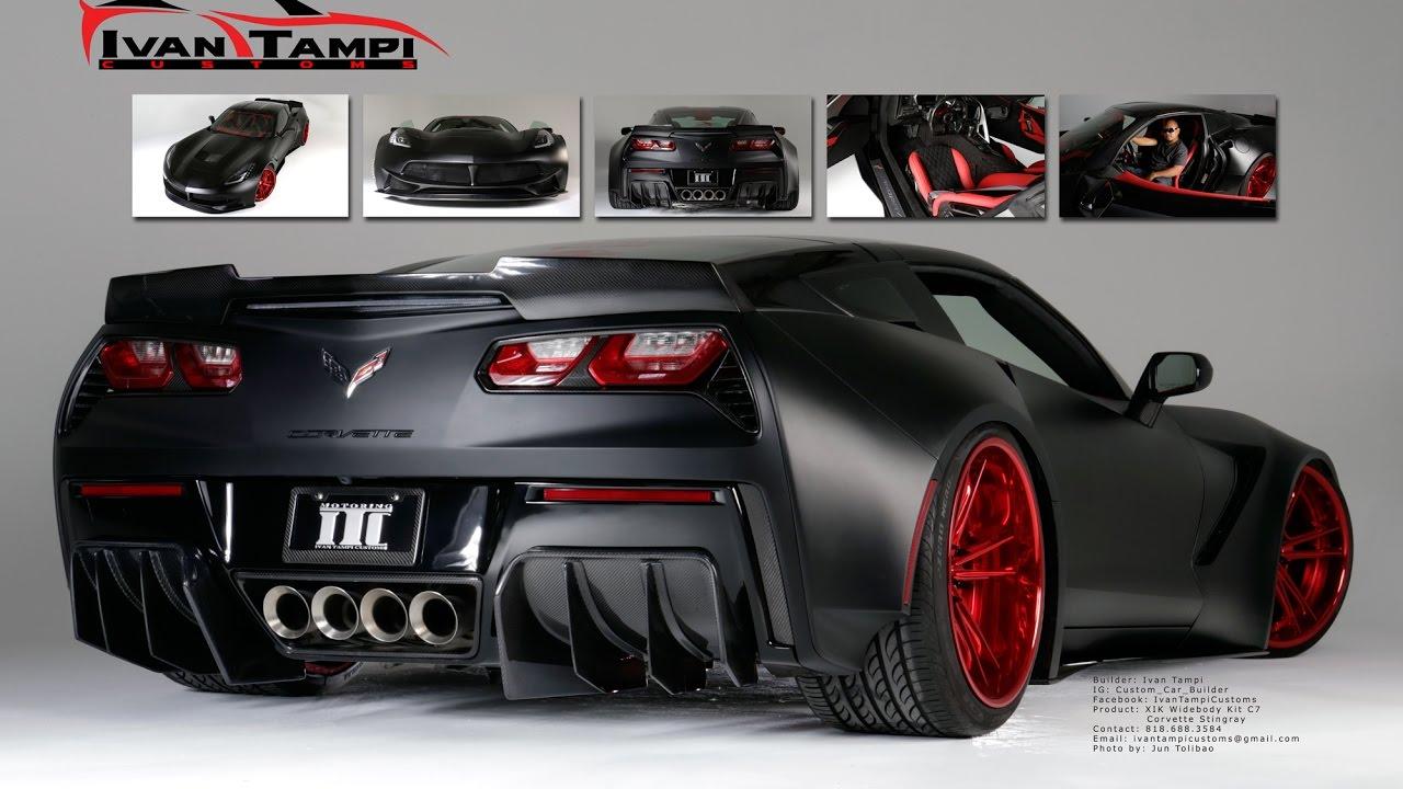 C7 Corvette Sick Wide Body Kit Design By Ivan Tampi