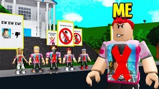 I Went UNDERCOVER On The HYPER HATER Server.. (Roblox Bloxburg)