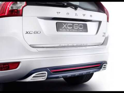 Volvo XC60 Plug-in Hybrid Concept Review