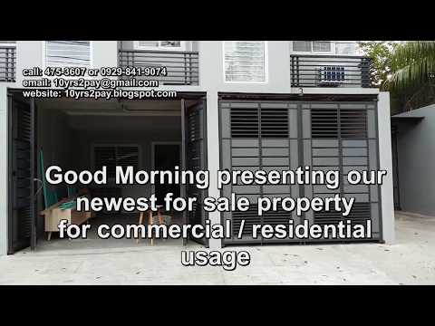 9.5M Commercial Residential townhouse for sale in Quezon City
