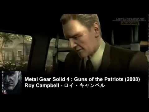 Takeshi Aono - Roy Campbell - Aleksandr Leonovitch Granin - 青野 武