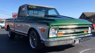 Test Drive 1968 Chevrolet C-10 SWB $17,900 Maple Motors