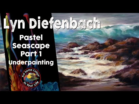 Painting a Pastel Seascape - Part 1 with Lyn Diefenbach | Colour In Your Life