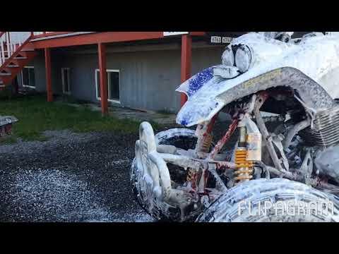 Honda 400ex 1999 rebuild