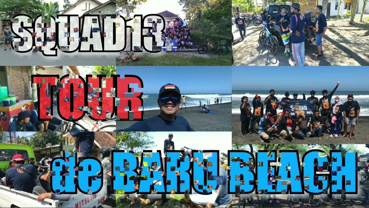 SQUAD13 Tour de Baru Beach