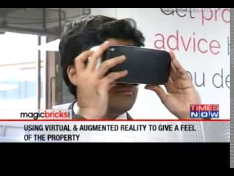 Exclusive Coverage of Magicbrick Experience Center on Times Now