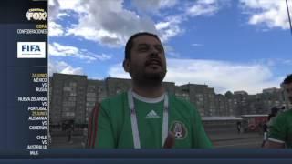 Así se vivieron las cosas minutos antes del México-Portugal