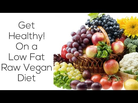 Get Healthy! Low Fat Raw Vegan Diet 80/10/10