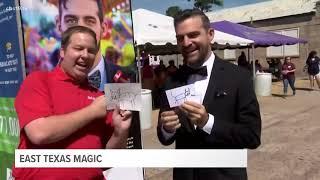 Magician Kardenni on CBS 19