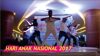 Hari Anak Nasional 2017 (Live Performance) || 7th Generation INDONESIA X Seven Dance School