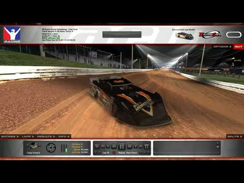 iRacing Simulator: Limited Late Model Race @Williams Grove Speedway