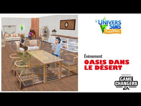 The sims Freeplay -Oasis dans le désert -Accès Anticipé