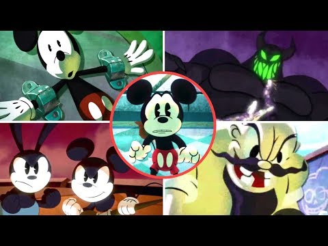 Epic Mickey 2 All Cutscenes | Full Game Movie (PS3) (No Songs)
