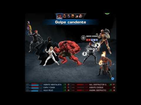 Combinaciones con Capa y Daga para el pvp 31 Marvel Avenger Alliance
