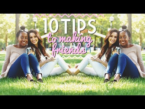10 Tips to Be Social & Make Friends!!