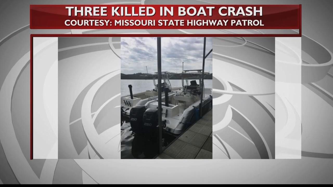 Fatal boat crash at Lake of the Ozarks kills 3, injures 2