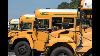 Fulton County Schools use alternative fueled buses to save money and help the environment
