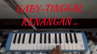 Belajar mudah pianika .. lagu gaby tinggal kenangan ..