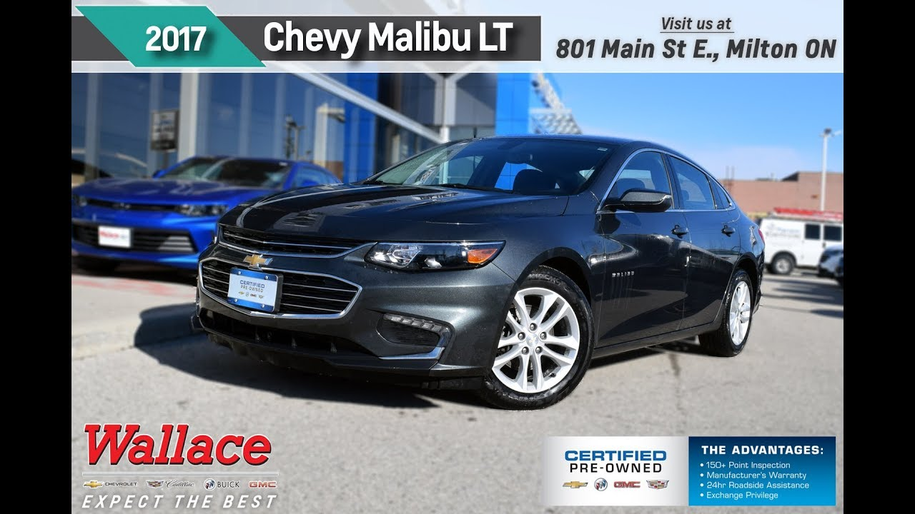 chevy malibu pr4636 wallace chevrolet certified pre owned youtube. Black Bedroom Furniture Sets. Home Design Ideas