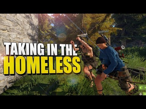 Taking In THE HOMELESS (Rust Survival) #103