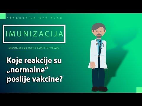 """IMUNIZACIJA - Koje reakcije su """"normalne"""" poslije vakcine?"""